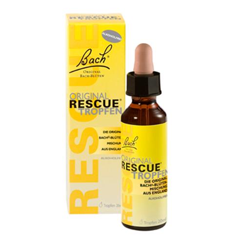 Bach Rescue kapljice brez alkohola 10ml